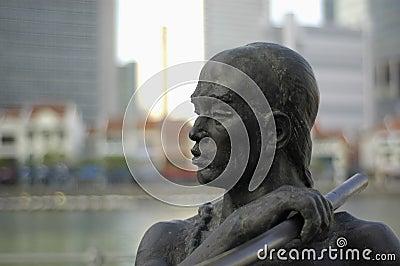 Statue in Singapore