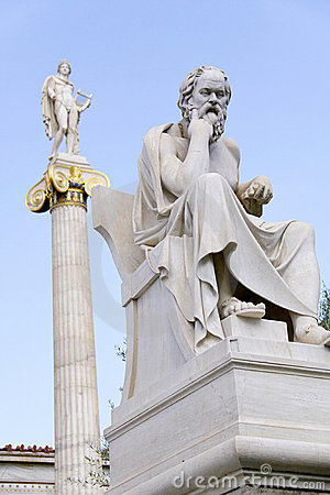 Socrates Statue From Alexandria 200 Bc Stock Photo | Getty Images