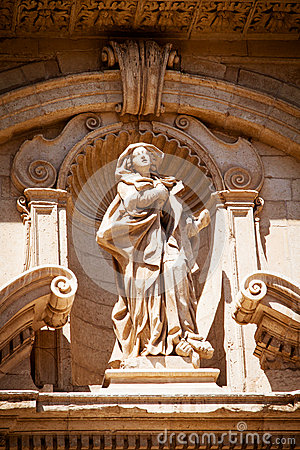 Statue of St Irene