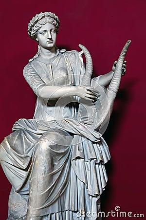 Statue of Terpsichore