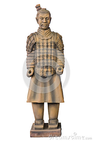 Free Statue Terracotta Warriors Stock Photography - 37115432