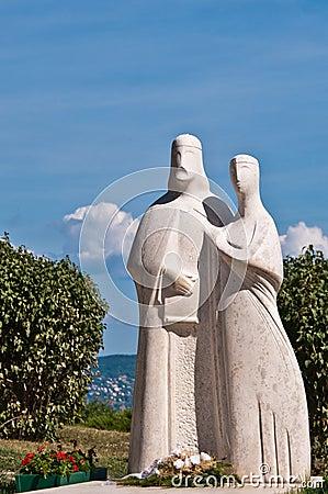 Statue in Tihany, Hungary