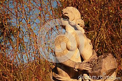 Statue of a Virgin