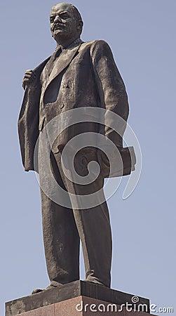 Statue Of Vladimir Ilyich Lenin In Sochi, Russia Royalty ...