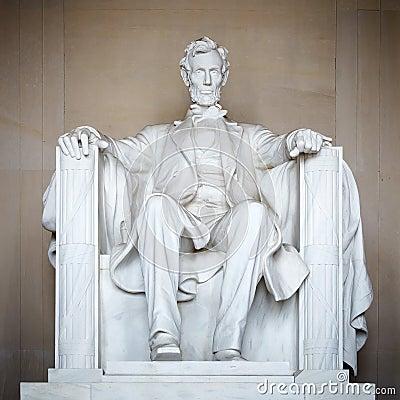 Statue von Abraham Lincoln