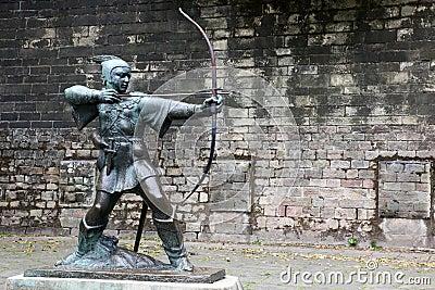 Statue von Robin Hood