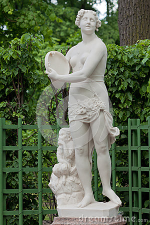A statue of the Youth