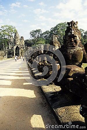 Statues- Angkor, Cambodia