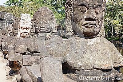 Statues of Angkor Thom