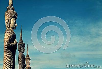Statues en Thaïlande