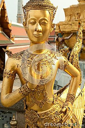 Free Statues Grand Palace Bangkok Stock Photo - 10859150