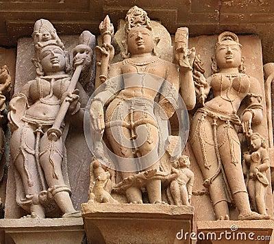 Statues of Khajuraho