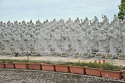 Statues Of Louhans
