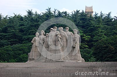 Statues of Martyrs, Yuhuatai, Nanjing, China