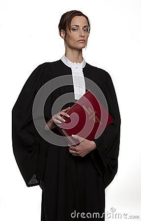 Statuesque attorney