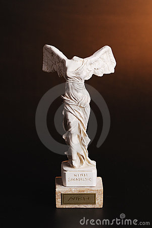 Statuette of Nika - the greek goddess of victory