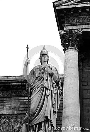 Status of ancient greek hero