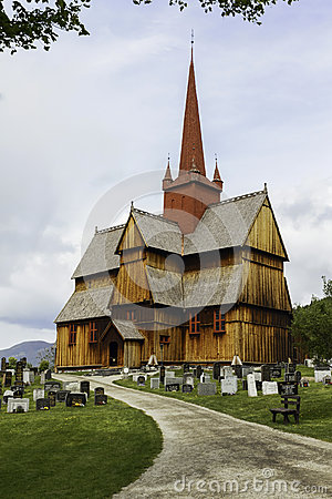 Stave Church Editorial Photography