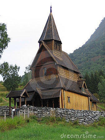 Stave church - UNESCO site