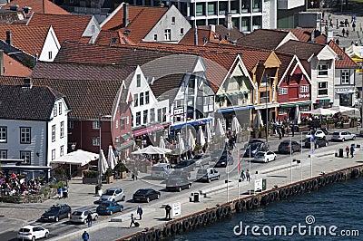 Stavenger-Ufergegend Redaktionelles Stockbild