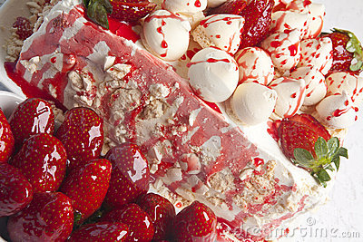Stawberry cake