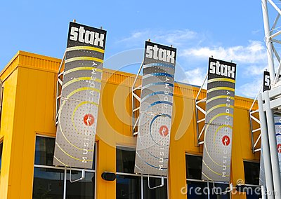 Stax Music Academy Building, Memphis Tennessee Editorial Stock Photo