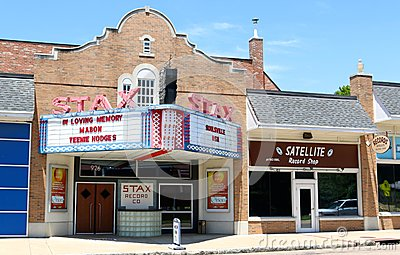 Stax Records Museum of Music, Memphis Tennessee Editorial Photo