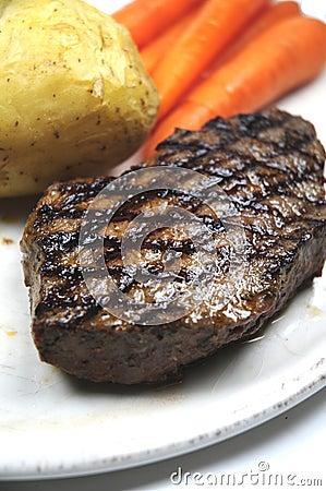 Free Steak Royalty Free Stock Photo - 10590095