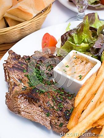 Steak beef