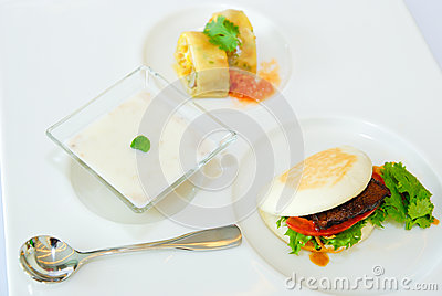 Steak & Dessert in lunch set