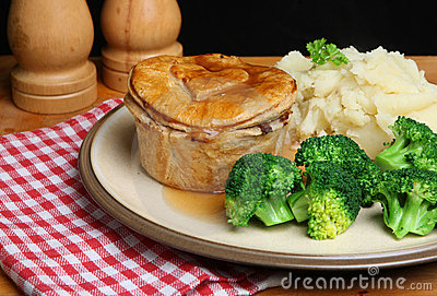 Steak Pie Meal