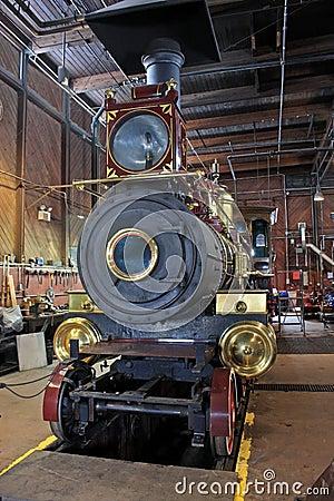 Free Steam Engine Royalty Free Stock Photos - 35345618