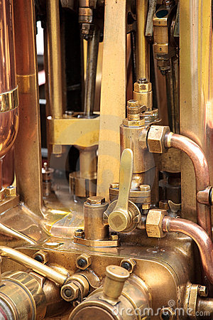 Steam Engine Brass Pipes