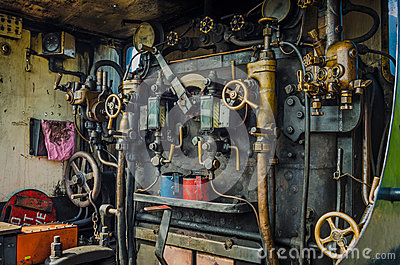 Steam Engine Cabin