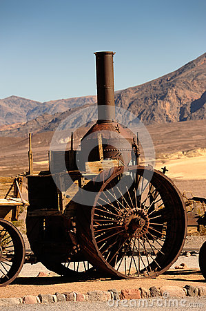 Steam Engine, Death Valley California
