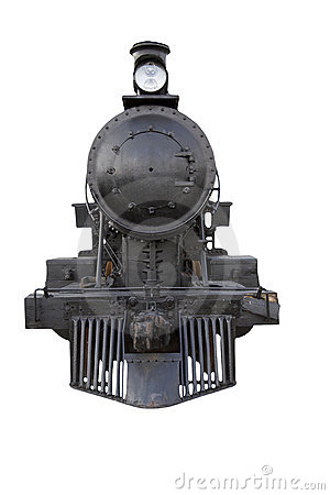 Steam Engine Front Royalty Free Stock Images - Image: 18712959