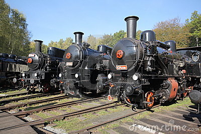Steam-engines Editorial Stock Photo