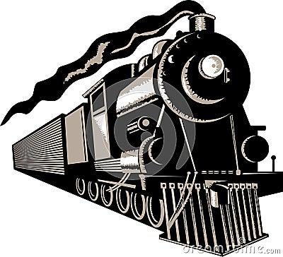 Free Steam Locomotive Train Royalty Free Stock Photos - 6747368