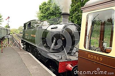 Steam Locomotive Train GWR 4500 Class Small Prairi