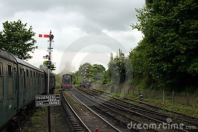 Steam Locomotive Train GWR 4500 Class Small Prairi
