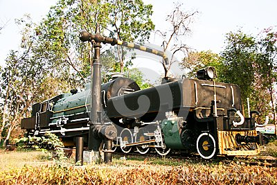 Steam locomotives.