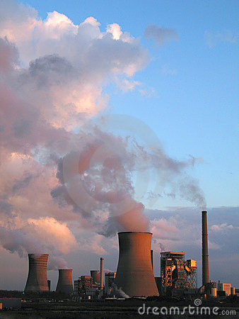 Free Steam Of Electric Power Plants Stock Photos - 6526813
