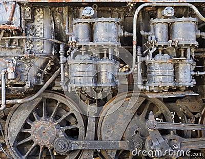 Steam-punk steam engine