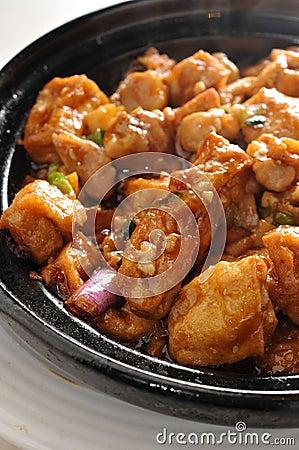 Free Steam Tofu Stock Photos - 54591753