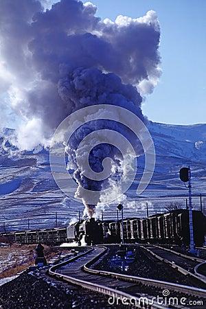 Free Steam Train Stock Image - 5022511