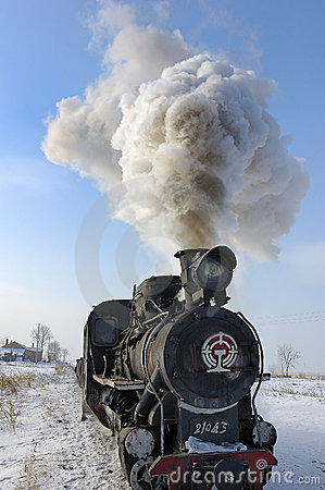 Free Steam Train Stock Photo - 9109640