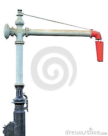 Free Steam Train Engine Water Crane Column Spout Royalty Free Stock Photo - 27321765