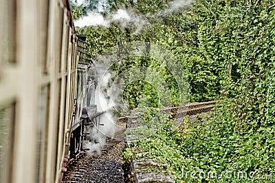 Steam train HDR