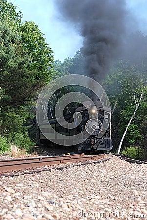 Steam Train Run-by