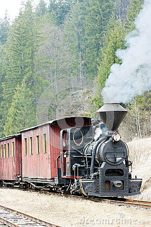 Steam train, Slovakia
